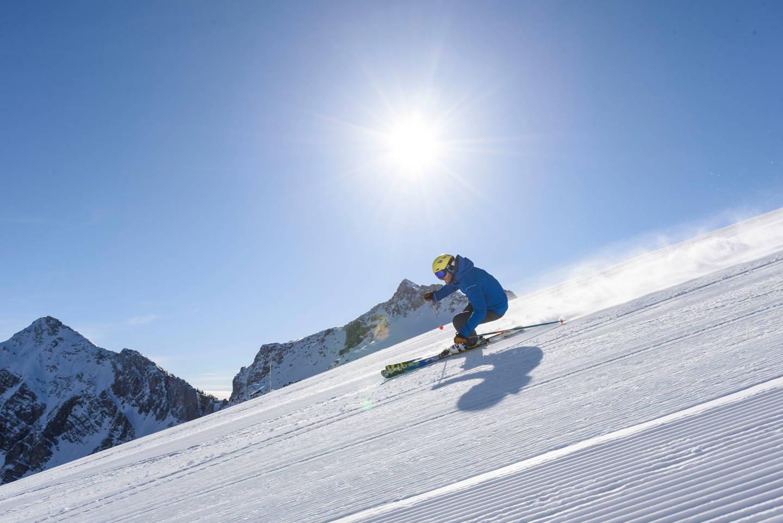 Skifahren hotel bogner hof im tannheimer tal tirol for Designhotel tannheimer tal