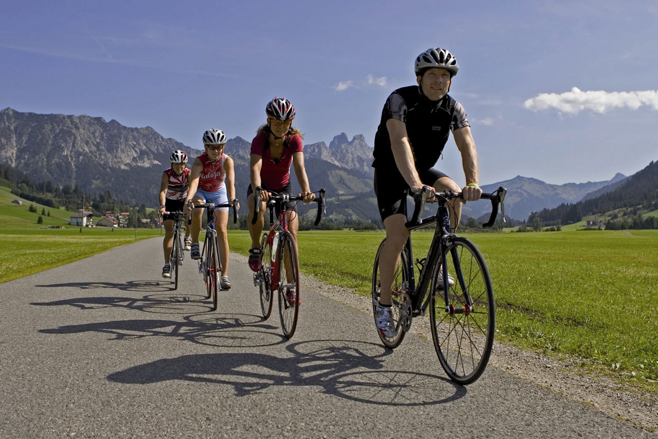 Roadbike Holiday Hotel - Bogner Hof in Tannheim